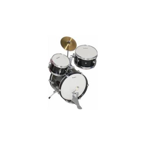 Steinbach Kinderschlagzeug 14 Zoll schwarz Altersempfehlung ca. 2-7 Jahre Kinderschlagzeug SJDS-500-4 Drum-Set Juniordrumset Jugendschlagzeug Juniorschlagzeug Schlagzeugset