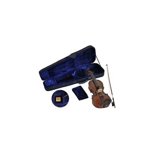 Steinbach SV-10034LH Linkshänder Geige Set 3/4 handgearbeitete Violinengarnitur inklusive Koffer und Bogen Linkshänder Geige Linkshänder Geigenset Violine Geige Anfängergeige Kindergeige linkshändergeige