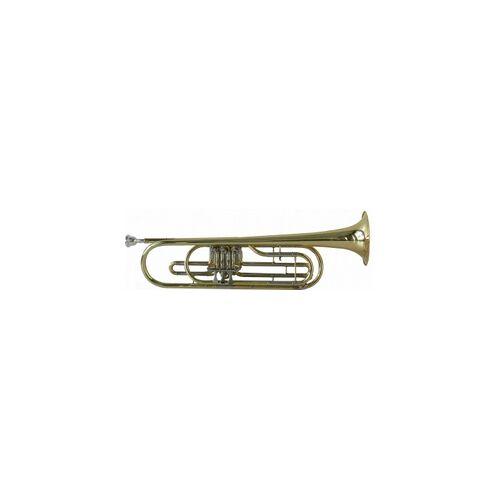 Steinbach Basstrompete Bb Stimmung in Lederkoffer STRB-100 B-Basstrompete Basstrompete Bass Trompete Bass Trompete Bass-Trompete Bass- Trompete MCBROWN B-BASSTROMPETE