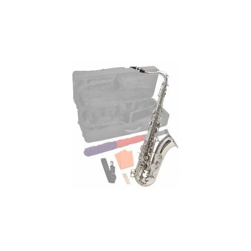 Steinbach Bb Tenorsaxophon Silber mit hohem FIS inkl. Koffer STS-100 S Saxophon Tenorsaxophon Tenor Saxophon Tenor-Saxophon Saxophon Tenor Saxophone Blasinstrument Saxophon Bb gestimmt Bb Saxophon