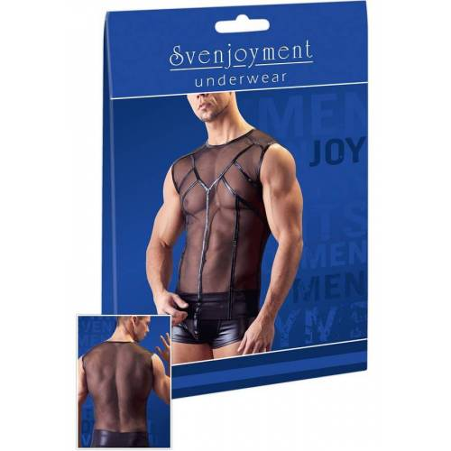 Herren - Svenjoyment Shirt Powernet schwarz
