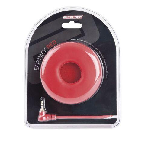 Reloop - Ear Pack / Spiralkabel rot