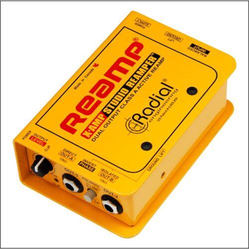 Radial - X-Amp aktive Reamping Box