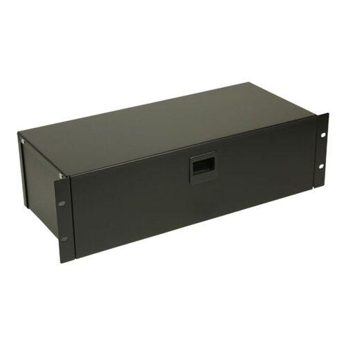 "Adam Hall - 87303 - 19"" Rackbox 3HE mit Schnappverschluss"
