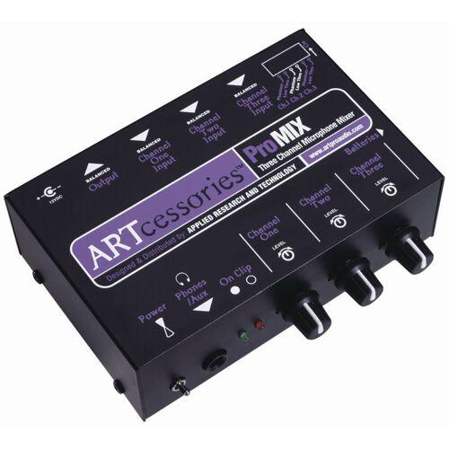 ART - ProMIX 3-Kanal-Mono-Mikrofonmixer