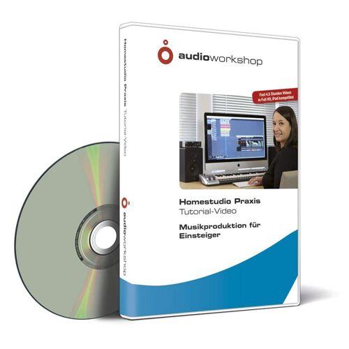 Audio Workshop - Homestudio Praxis für Einsteiger, DVD f. Mac/PC