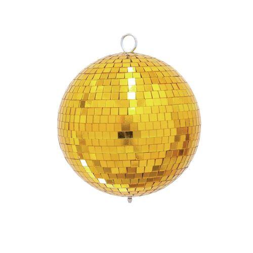 EuroLite - Spiegelkugel 20cm gold 10mm Spiegel