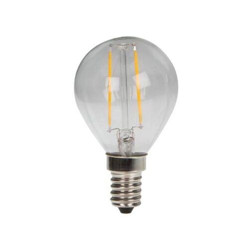 HQ Power - LED Filament E14, 2W Leuchtmittel Edison G45, 2700K