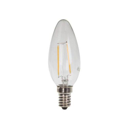 HQ Power - LED Filament E14, 2W Leuchtmittel Kerze 2700K