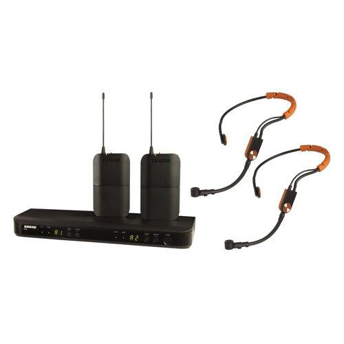 Shure - BLX188E/SM31, S8 Dual Fitness Headsetfunksystem