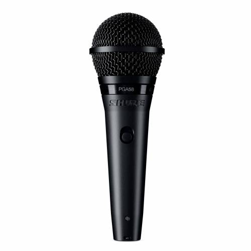 Shure - PGA58-BTS Mikrofon mit Stativ
