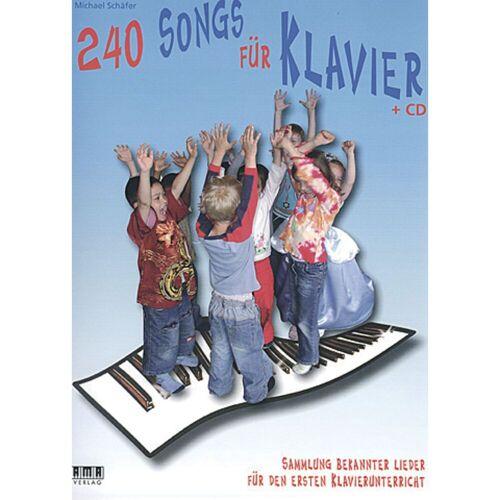 AMA Verlag - 240 Songs für Klavier Klavieranfänger (Kinder)