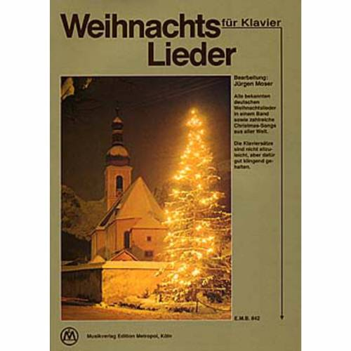 Edition Metropol - Weihnachtslieder für Klavier