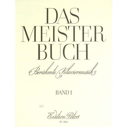Edition Peters - Meisterbuch 1 Klavier