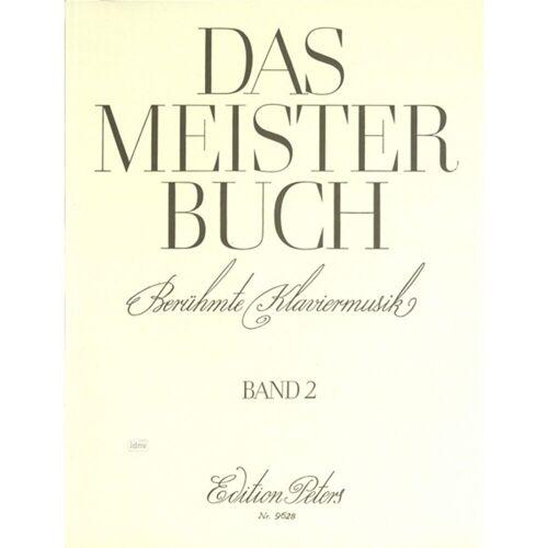 Edition Peters - Meisterbuch 2 Klavier