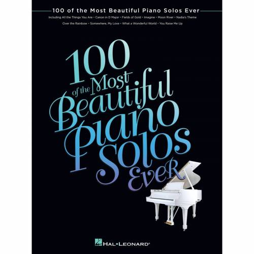 Hal Leonard - 100 of the Most Beautiful Piano Solos Ever