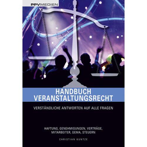 PPV Medien - Handbuch Veranstaltungsrecht