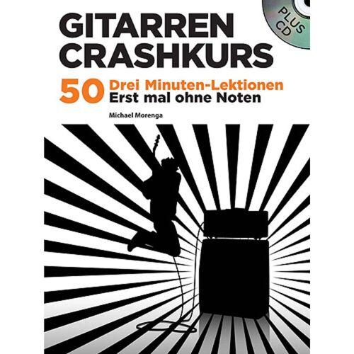 Bosworth Music - Gitarren Crashkurs Morenga, Buch und CD