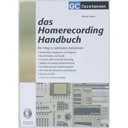 Carstensen-Verlag - Das Homerecording Handbuch