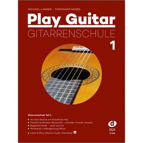 Edition Dux - Play Guitar Gitarrenschule 1