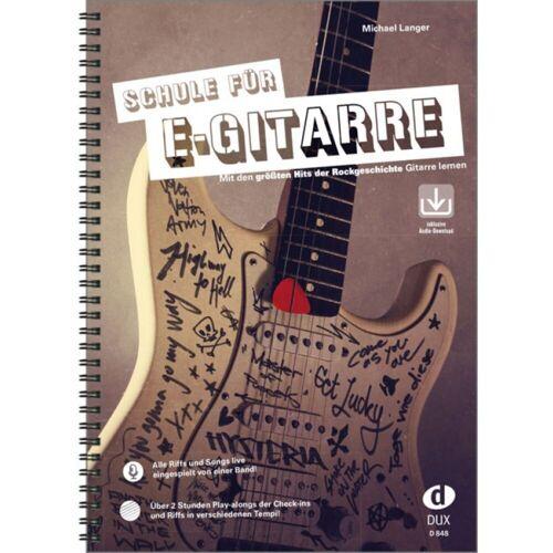Edition Dux - Schule für E-Gitarre