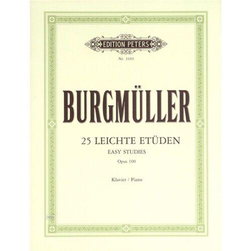 Edition Peters - Burgmüller: Etüden, op. 100 Klavier