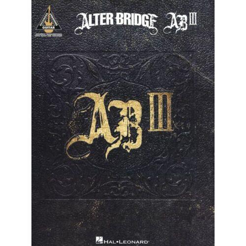 Hal Leonard - Alter Bridge: AB III