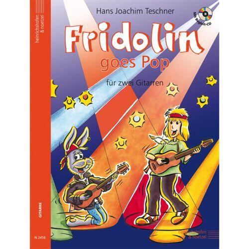 Heinrichshofen - Fridolin goes Pop 1 mit CD Teschner, 2 Gitarren (leicht)