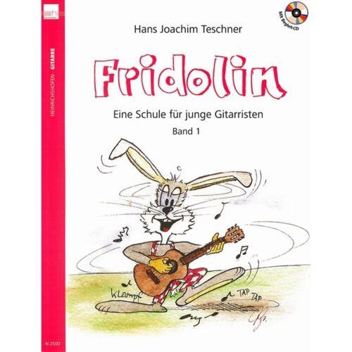 Heinrichshofen - Fridolins Gitarrenschule Band 1 - Ausgabe mit CD