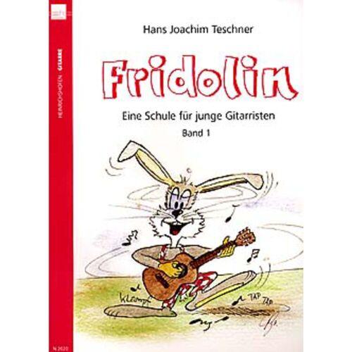 Heinrichshofen - Fridolins Gitarrenschule Band 1