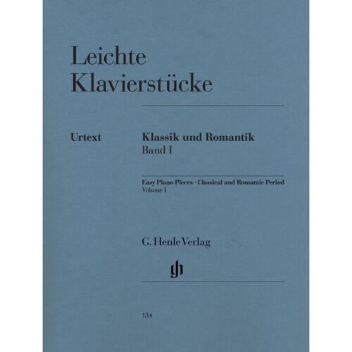 Henle Verlag - Leichte Klavierstücke - Klassik und Romantik Band I