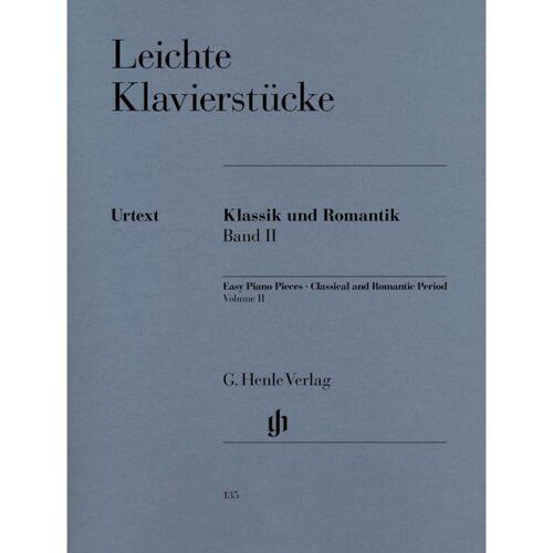 Henle Verlag - Leichte Klavierstücke - Klassik und Romantik Band II