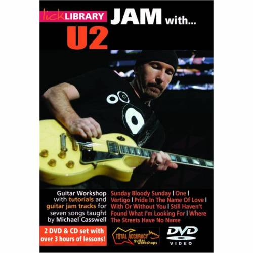 Roadrock International - Lick Library: Jam With U2 DVD, CD