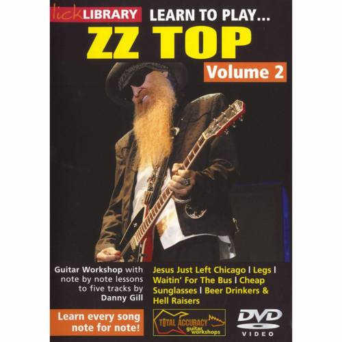 Roadrock International - Lick Library: Learn To Play ZZ Top 2