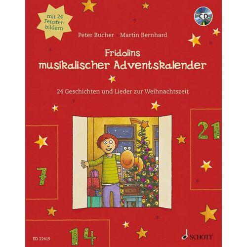 Schott Music - Fridolins musikalischer Adventskalender