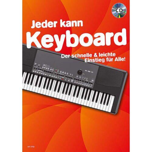 Schott Music - Jeder kann Keyboard Buch und CD