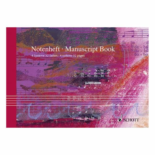 Schott Music - Notenheft DIN A5