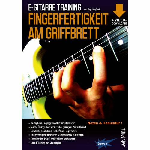 Tunesday - E-Gitarre Training - Fingerfertigkeit am Griffbrett