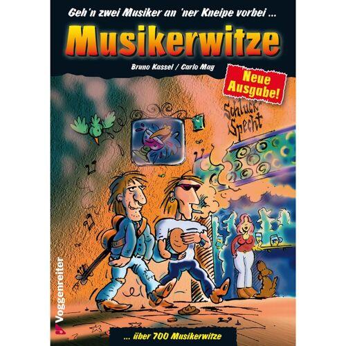 Voggenreiter - Musikerwitze  Kassel / May, Geschenkartikel