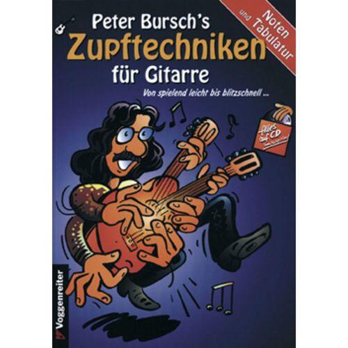 Voggenreiter - Peter Bursch´s Zupftechnikbuch