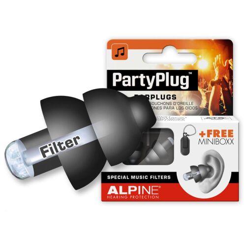 Alpine - PartyPlug Gehörschutz, Black