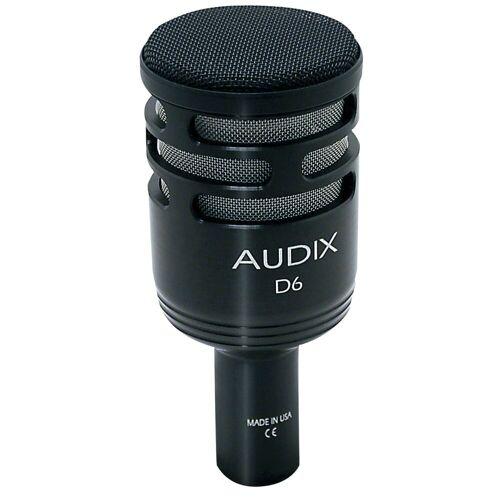Audix - D-6 dynamisches Kick Drum Mikrofon