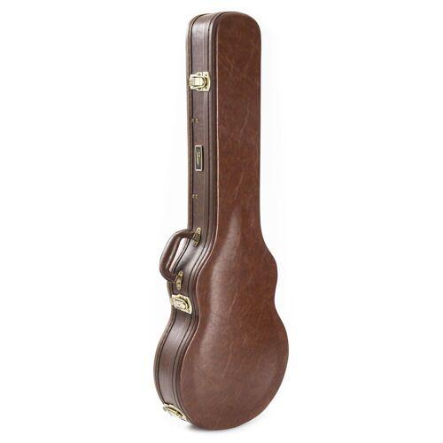 Fame - Case Singlecut Guitar Historic Brown
