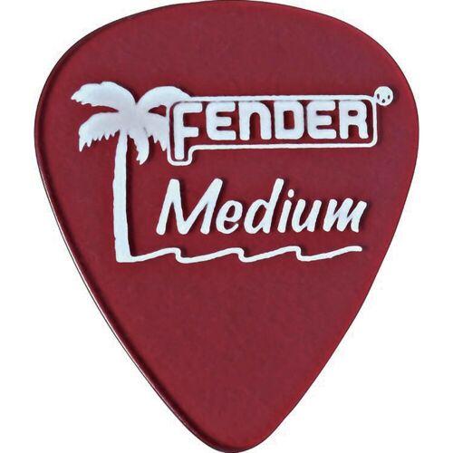 Fender - Picks 351 California CAR med 12er Set California Clear