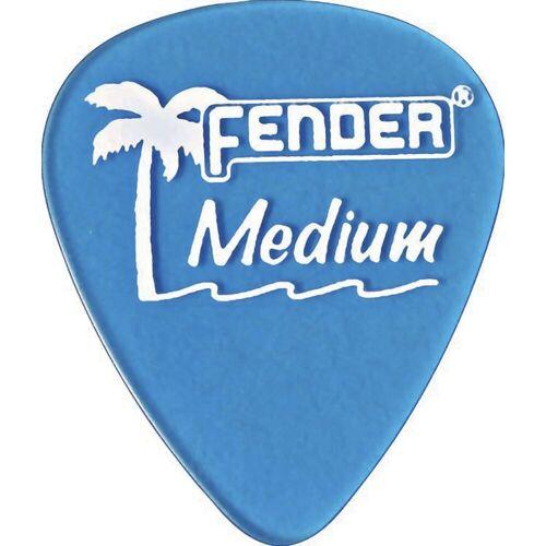 Fender - Picks 351 California LPB med 12er Set California Clear