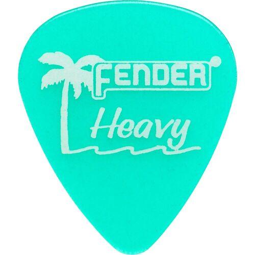 Fender - Picks 351 California SG heavy 12er Set California Clear