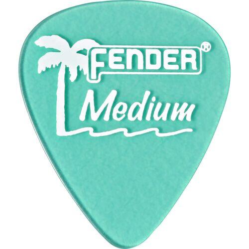 Fender - Picks 351 California SG med 12er Set California Clear