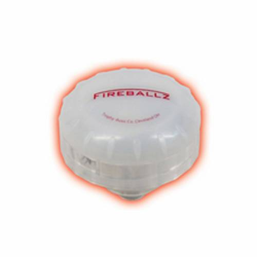 Fireballz - Fireballz Cymbal Nut FX14RD, Radient Red