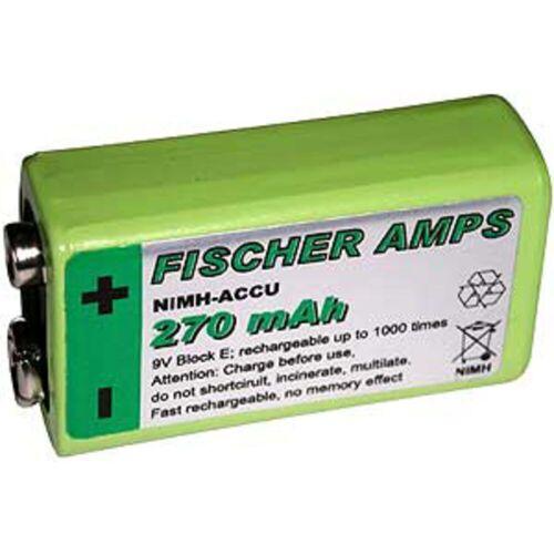 Fischer Amps - Akku 9V NiMH - 300 mAh