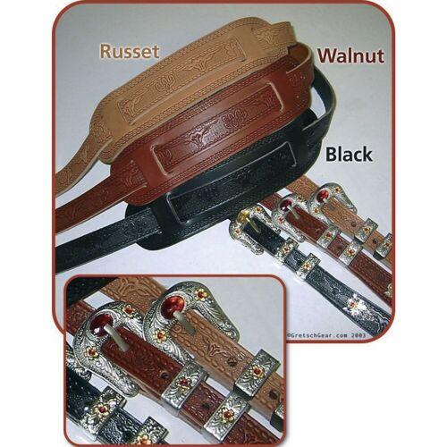 Gretsch - Gitarrengurt Tooled Vintage Russet